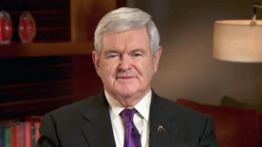 Gingrich explains blasting Obama for Koran burning apology, sounds off on Iran, Syria, and upcoming primaries in Michigan and Arizona