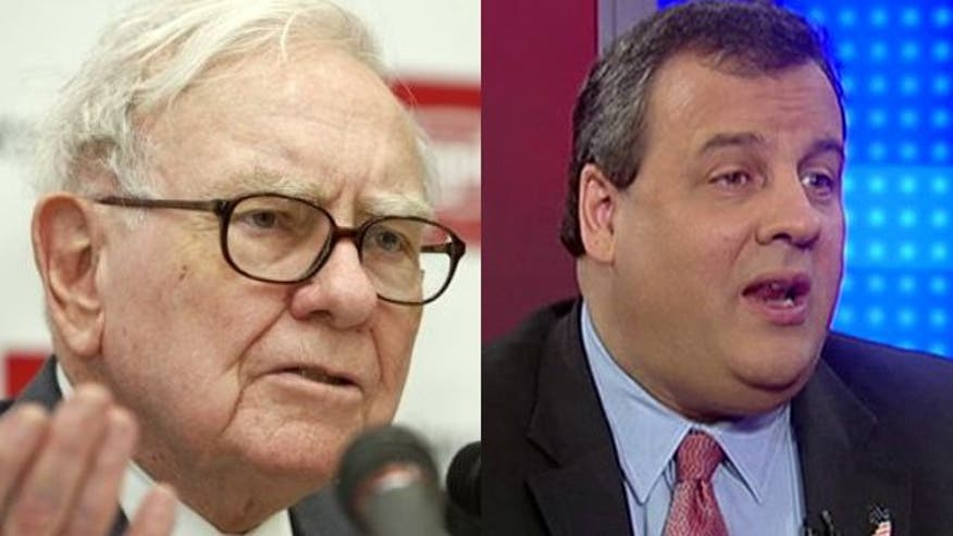 Christie's fight against so-called 'Buffett rule'