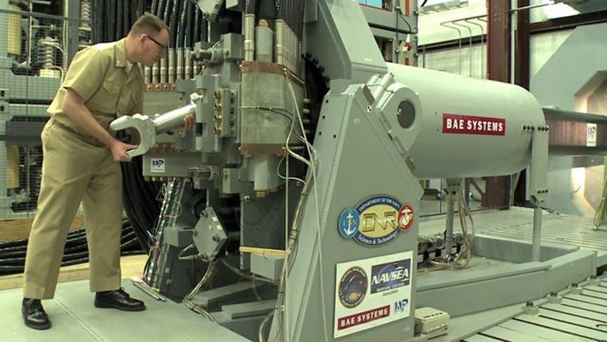The Navy has test fired a working railgun prototype, which uses magnets to shoot bullets at speeds of up to Mach 7