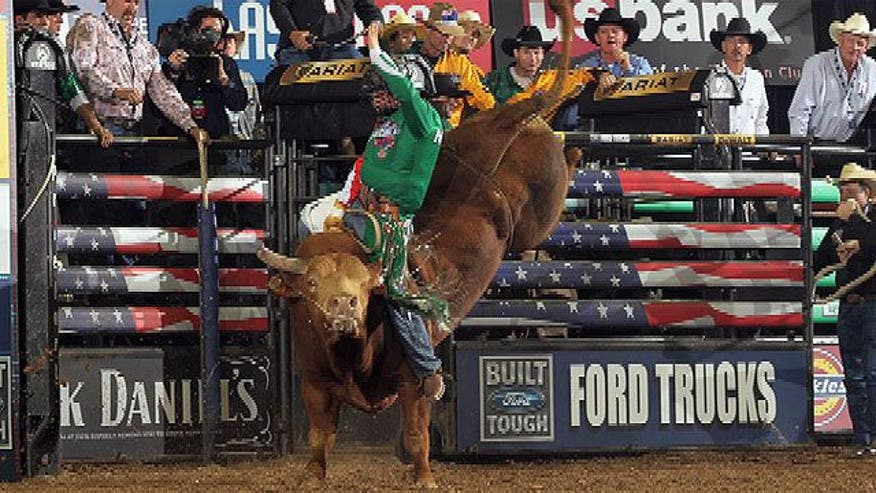 Mexico native Nile Lebaron talks about his life in the United States as a professional bull rider