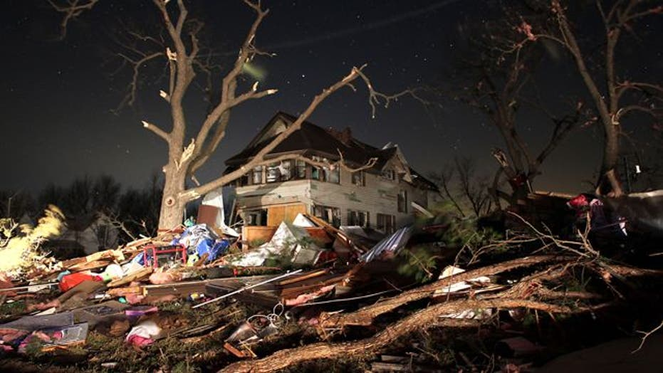 Deadly tornado-like storm tears through Midwest