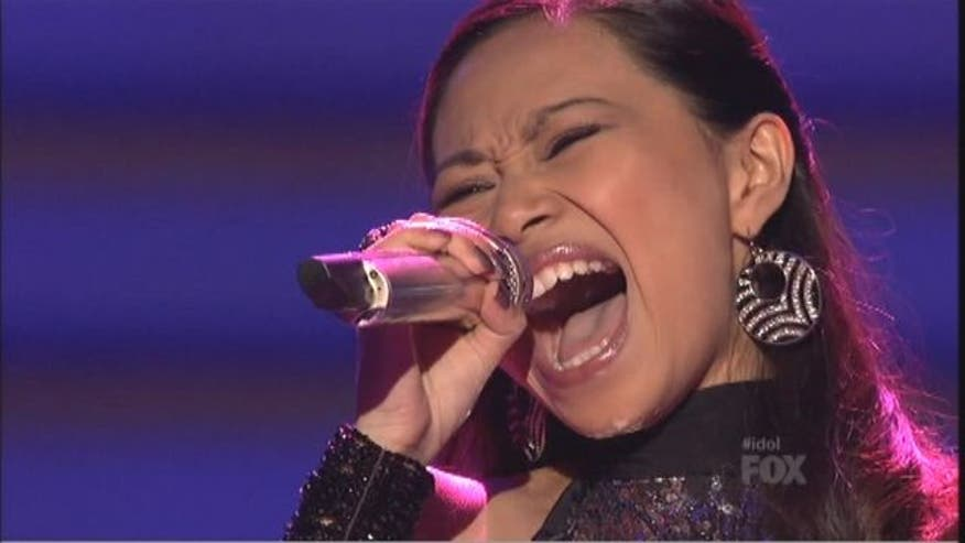 Jessica Sanchez had a standout performance on American Idol's Top 24 episode.