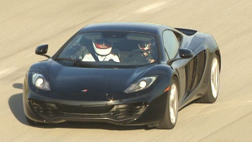 Fox Car Report drives the McLaren MP4-12C