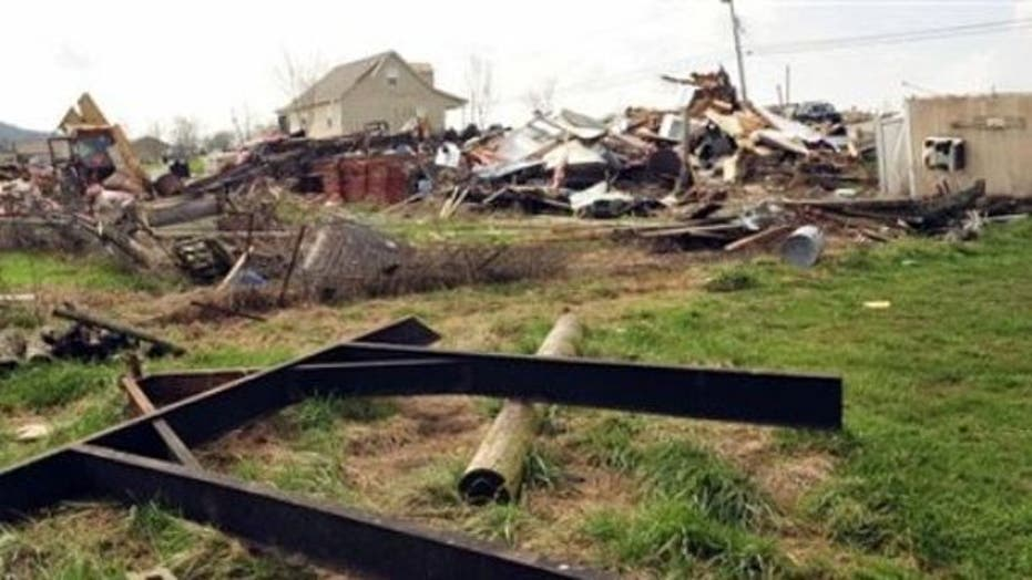 Alabama tornados hit same town damaged in last year's storms