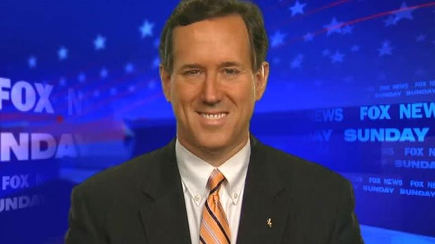 Rick Santorum speaks about upcoming Super Tuesday