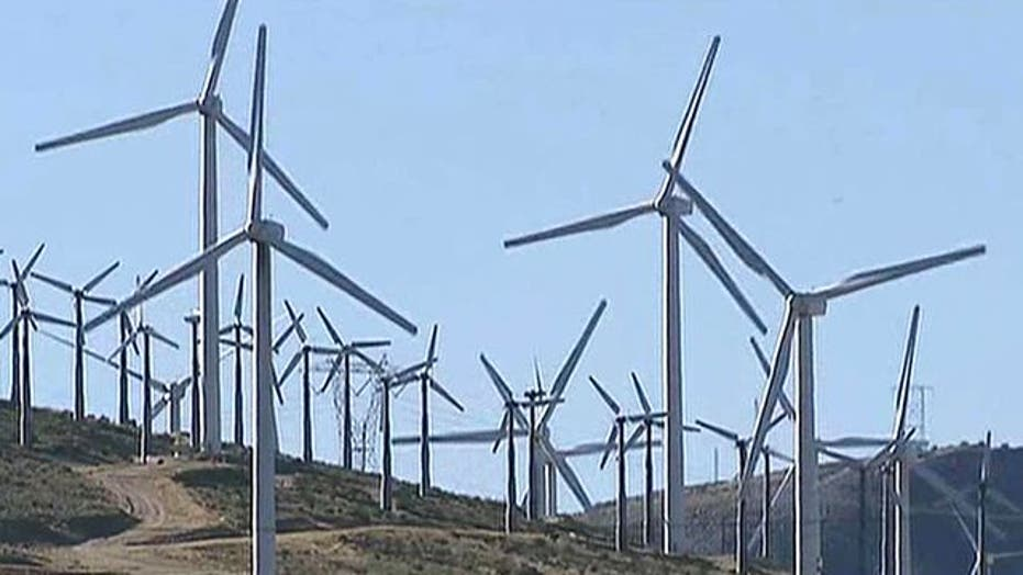 Wind farms paid not to generate electricity?