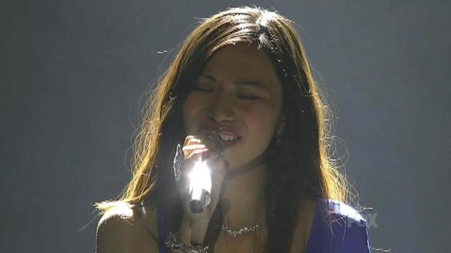 Jessica Sanchez sings a Whitney Houston classic on American Idol.