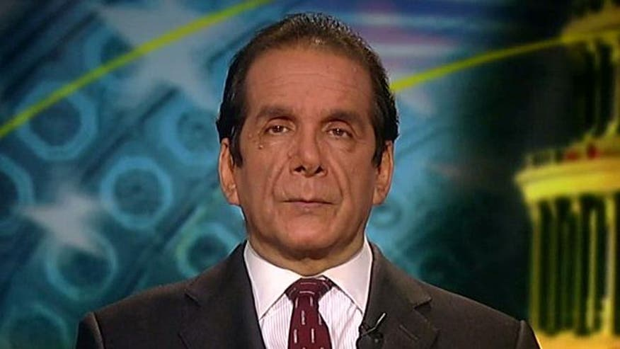 Commentator Charles Krauthammer clarifies his support and critiques of the 2012 candidate
