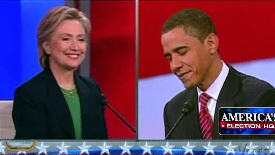 Comparing current GOP race to Obama, Clinton battle