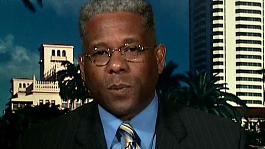 Florida Congressman Allen West weighs in