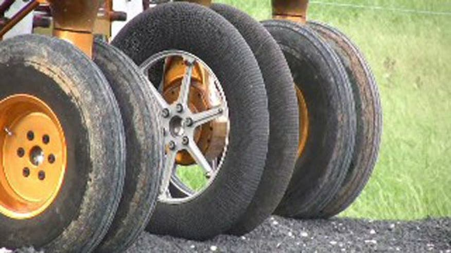 "Goodyear and NASA develop airless ""tires"" for use in outer space and extreme conditions"