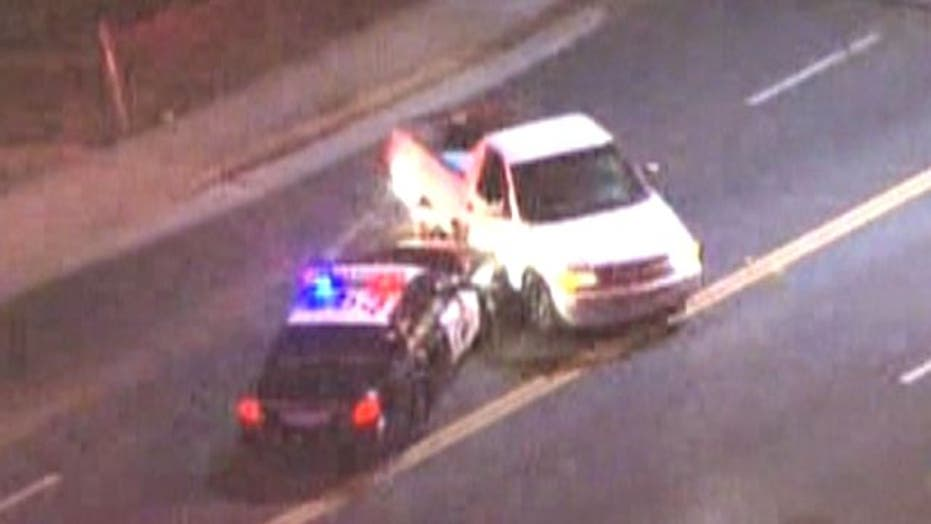 Baby on board during high speed police chase