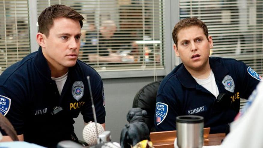 Channing Tatum, Jonah Hill play dysfunctional cops who head back to high school for drug bust in remake of classic '80s TV show