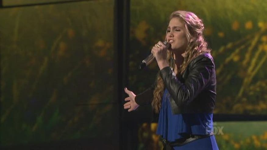 Shannon Magrane does not make the Top 10 on American Idol.
