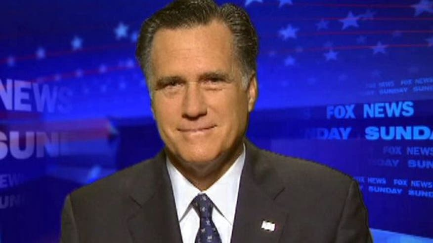 Romney discusses war in Afghanistan