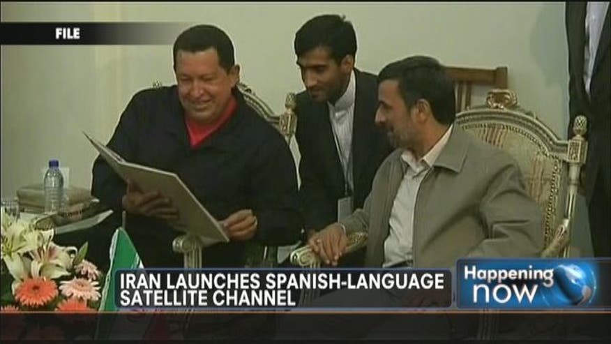 Iran recently launched a Spanish-language TV channel, Hispan TV, with the support and help of Venezuelan President Hugo Chavez. The channel pushes Anti-American, Anti-West and, in some cases, Anti-Christian messages.