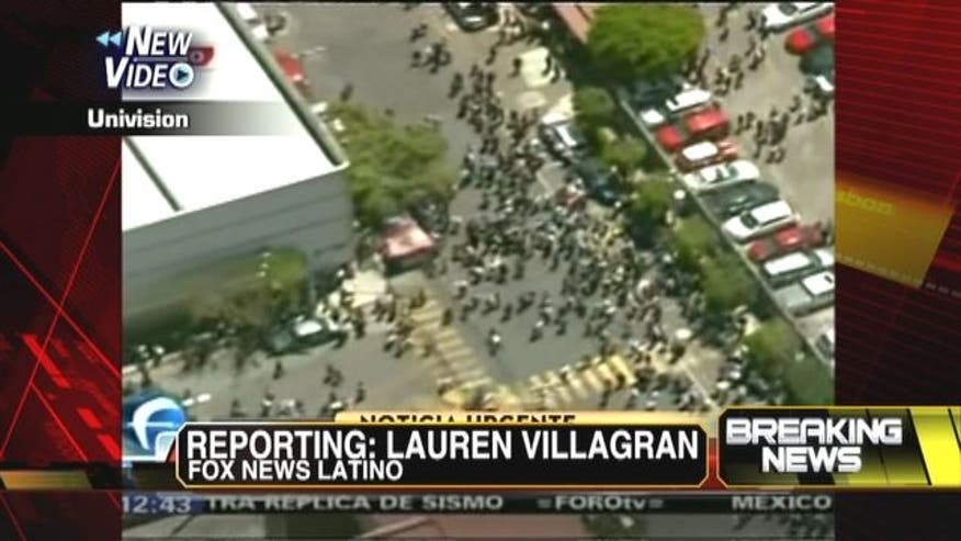 Fox News Latino Lauren Villagran reports on Mexico's earthquake in Studio B with Shepard Smith.