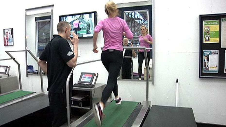 High Tech fitness machine gets you running faster