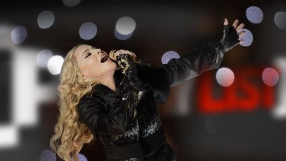 Madonna breaks her own record