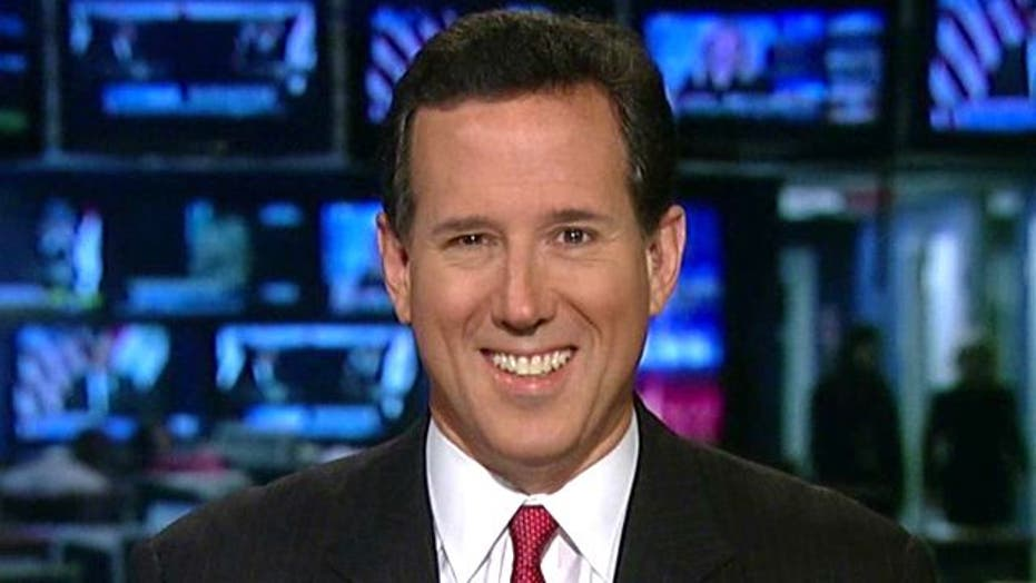 Santorum defends cursing at NY Times reporter