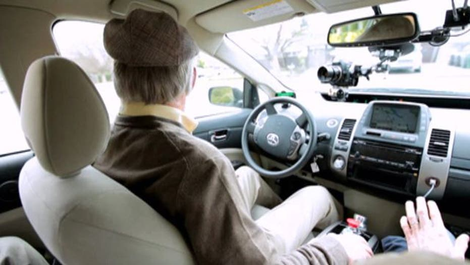 Google's self-driving car lets blind drive