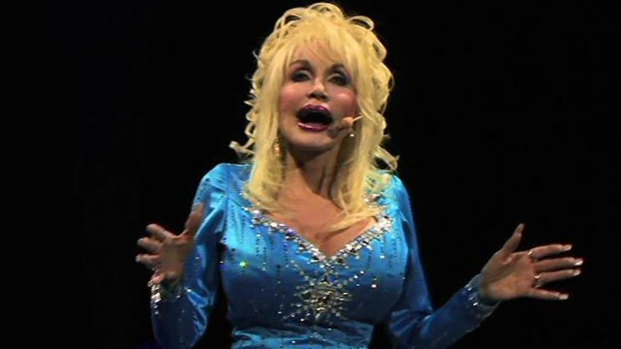 Exclusive footage of Dolly Parton singing the song she wrote that made Whitney Houston a star