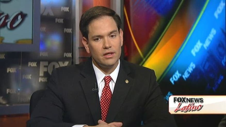 In a Fox News Latino Exclusive Juan Williams interviews Republican Senator Marco Rubio of Florida.