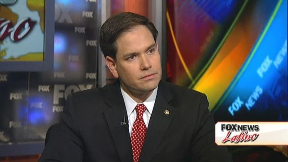 On Romney: Marco Rubio