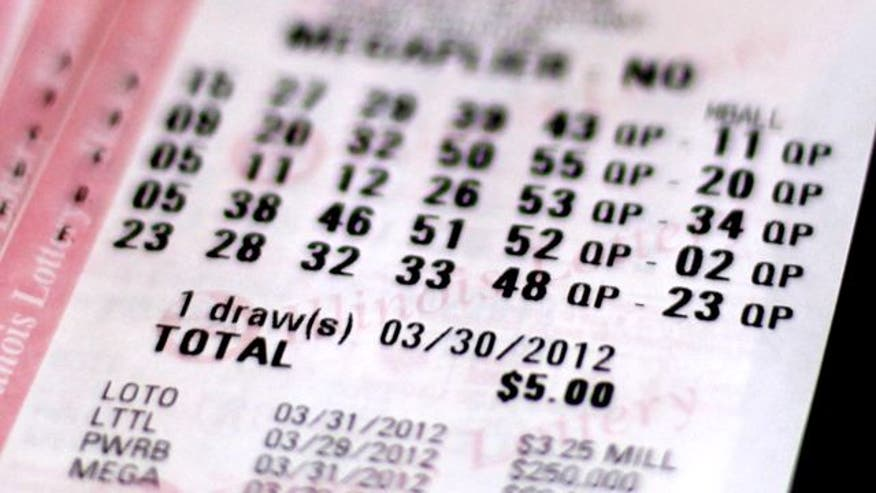 Odds of winning lottery are 1 in 175,711,536