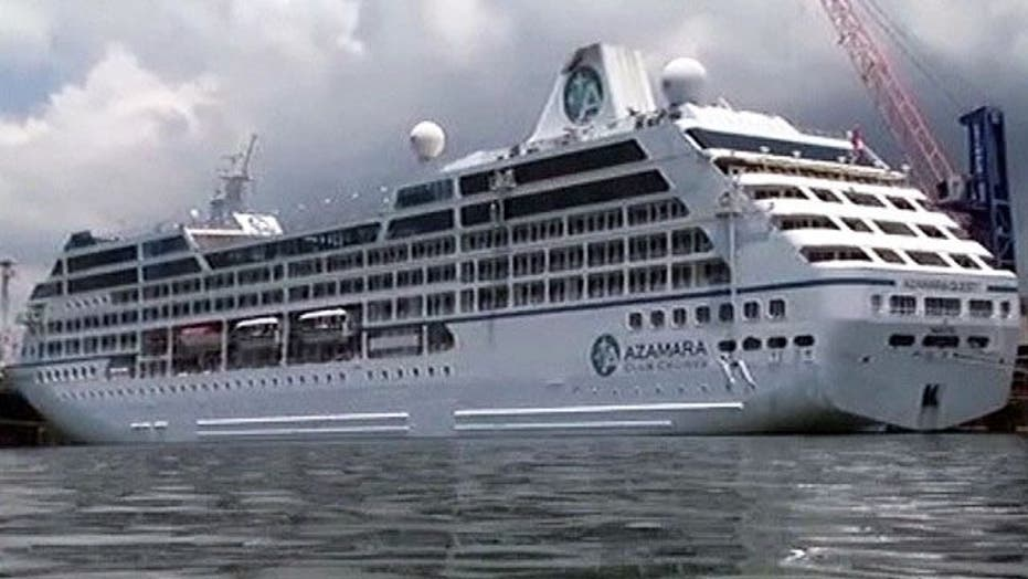 Fire damages cruise ship in Malaysia