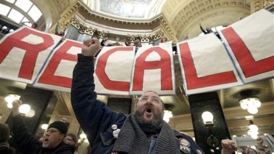 Big Labor's role in Wisconsin recall