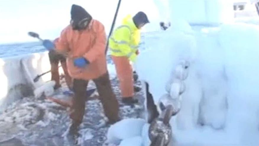 Exclusive footage gives inside look into treacherous conditions fishing crews face on Discovery's hit reality show