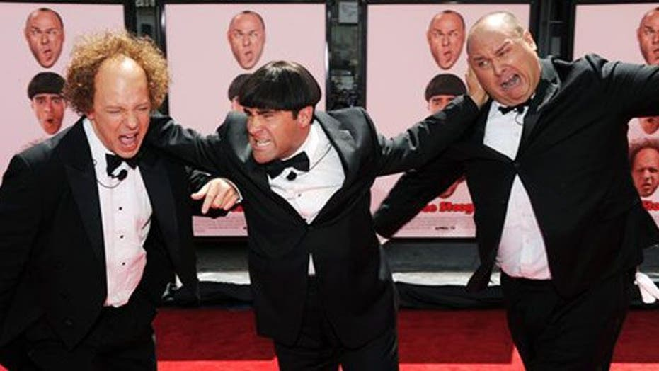 The Three Stooges' return to the big screen with slapstick humor, nuns in  bikinis and the 'Jersey Shore' | Fox News