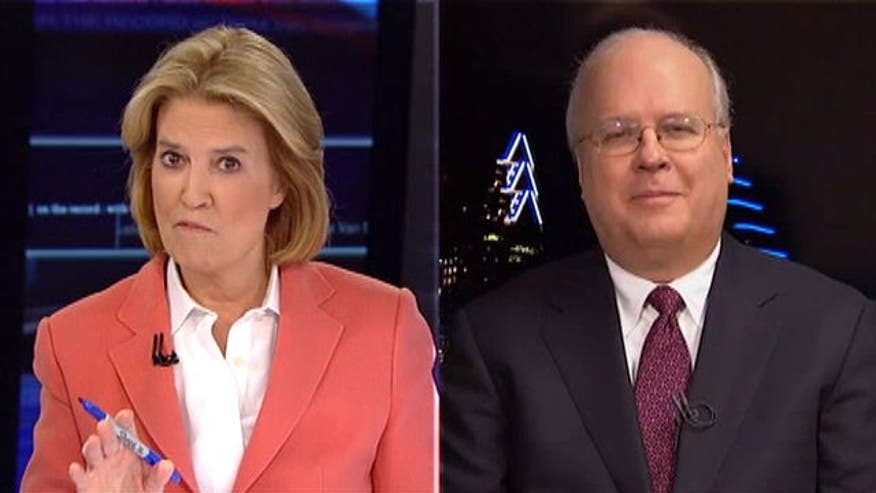 Greta defends friend's controversial comments on Ann Romney in fair and balanced debate with Karl Rove