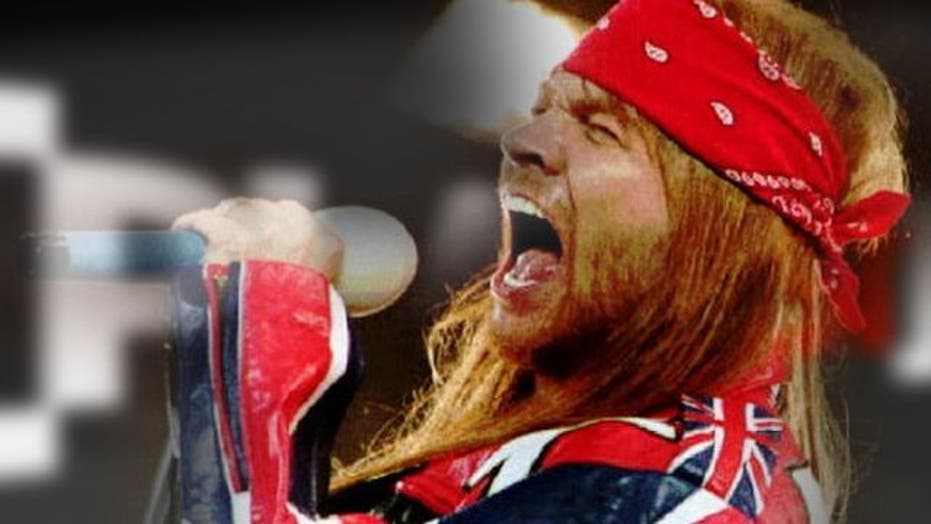 Axl Rose says no to Rock and Roll Hall of Fame