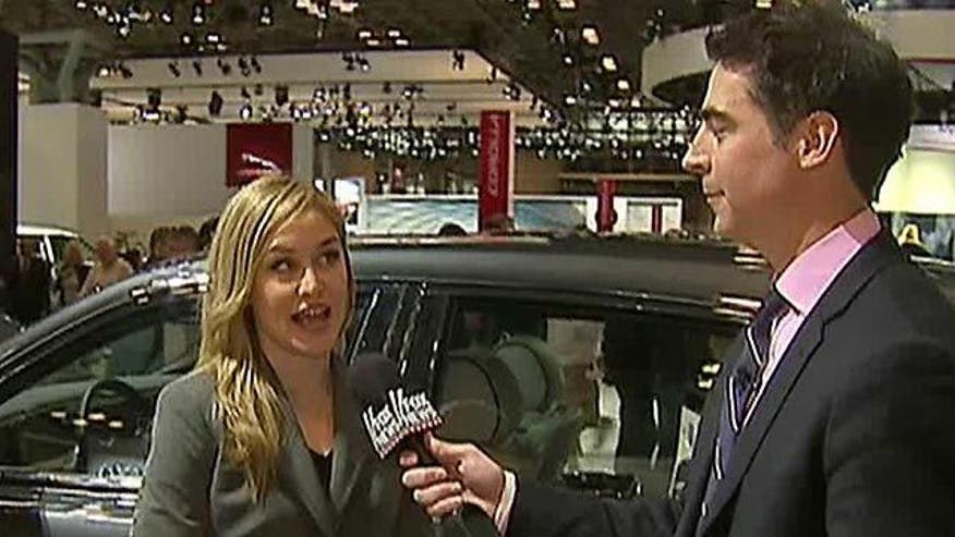 Jesse Watters visits the New York Auto Show to get a glimpse at the future of the automobile