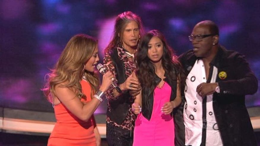 In an idol shocker Jessica Sanchez is saved by the judges after getting the least amount of votes.