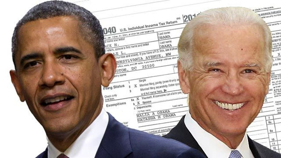 President, vice president release tax returns
