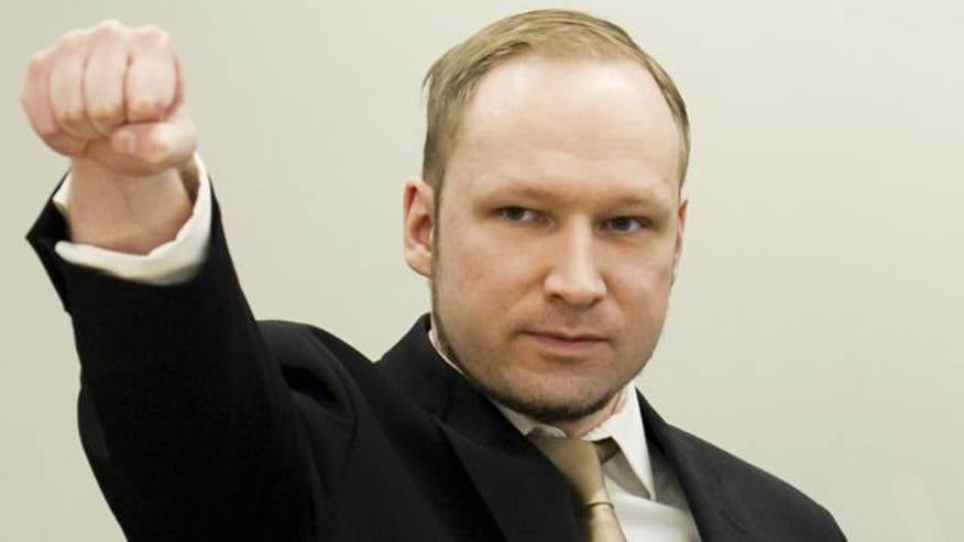 Raw video: Anders Behring Breivik admits to killing 77 people