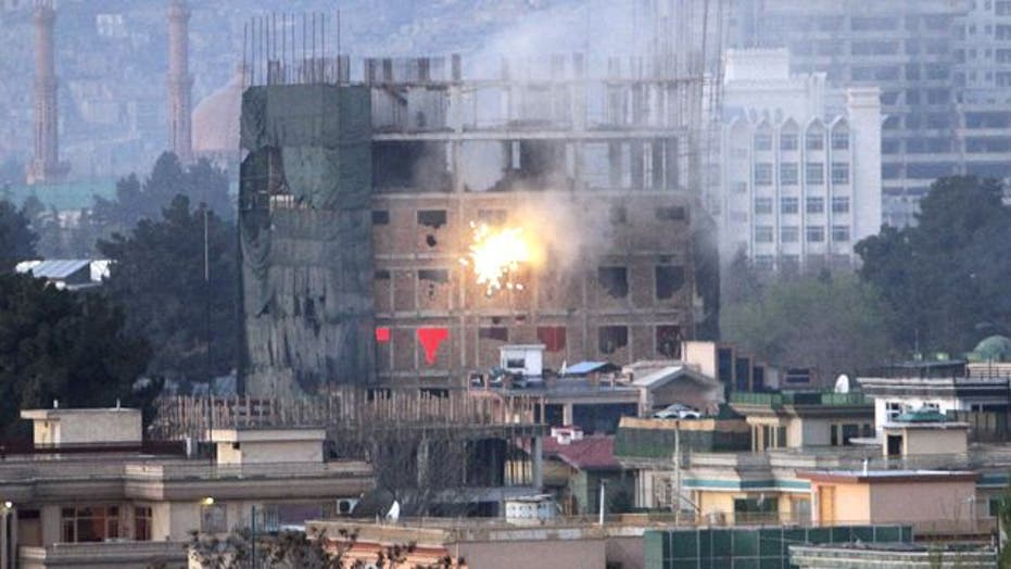 Attacks in Kabul end after 18-hour battle with insurgents