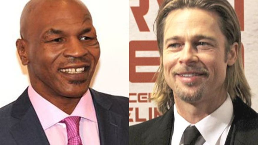 Brad Pitt, Mike Tyson once caught in a love triangle?