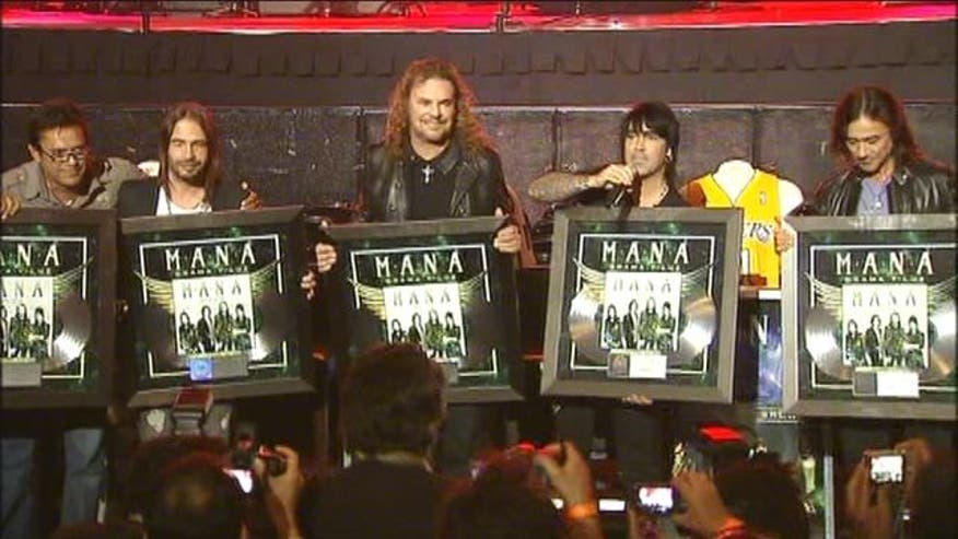 Mexico's international superstars Mana, are showing their music has no boarders by breaking an unprecedented record at LA's Staples Center, selling out 11 straight shows.