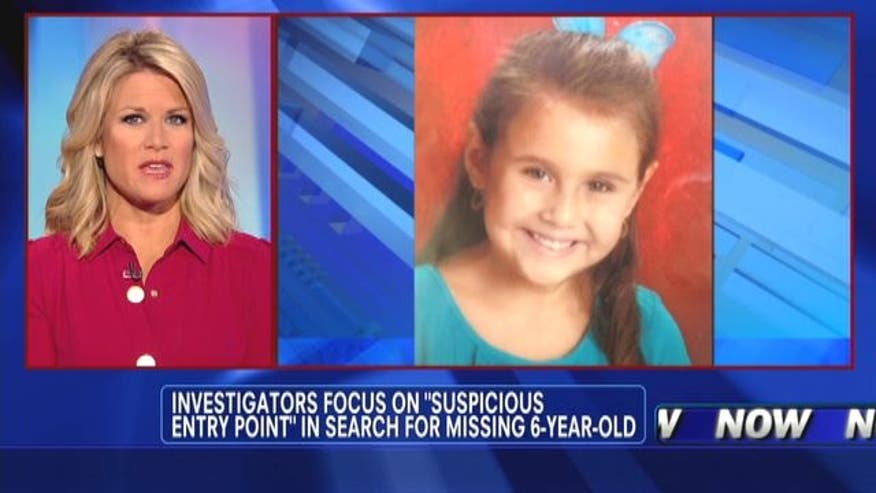 Investigators focus on 'suspicious entry point' in search for missing 6-year-old in Arizona.