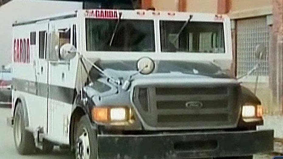 Suspect arrested in deadly armored car robbery
