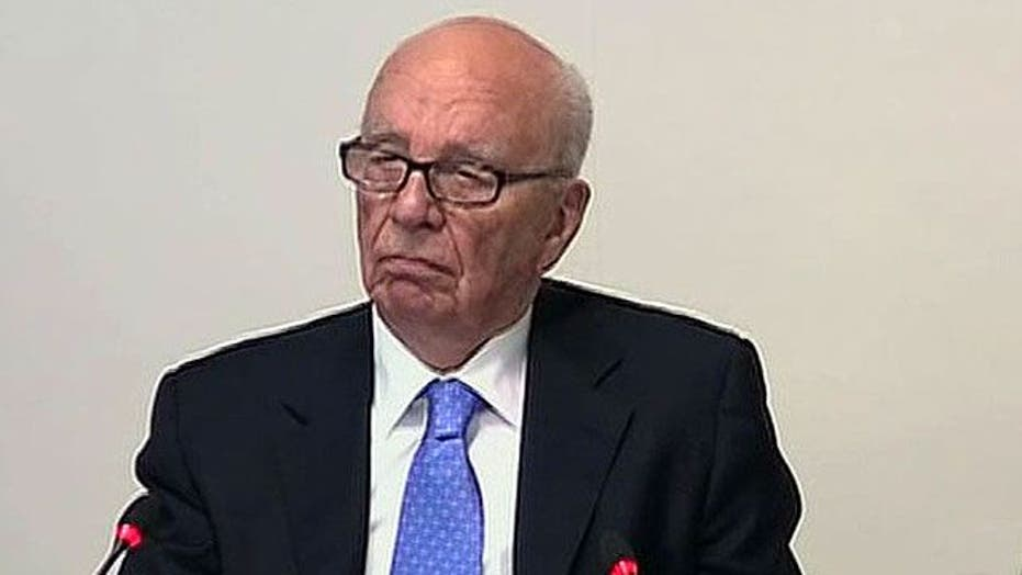 Rupert Murdoch testifies on media ethics in UK