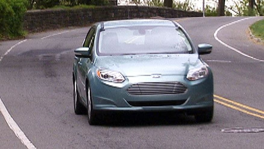 Fox Car Report talks to Ford's head of sustainability, John Viera, and takes his Focus Electric out for a spin.
