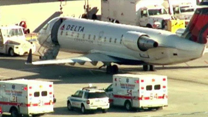 Infectious disease scare grounds plane