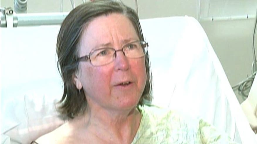 Maine with broken foot and no food 'tremendously grateful' to be alive