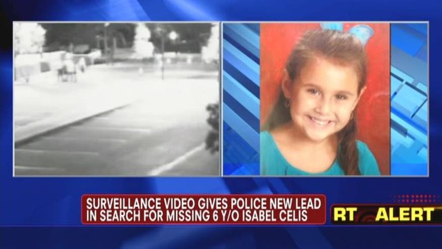 Surveillance video gives police new lead in search for missing 6 years old Isabel Celis.