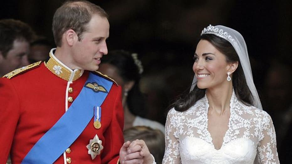 'Flawless' first year of marriage for Will and Kate